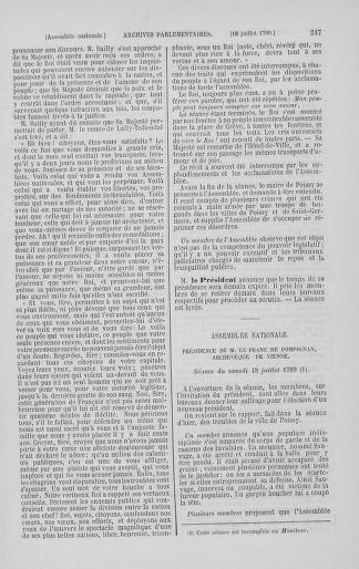 Tome 8 : Du 5 mai 1789 au 15 septembre 1789 - page 247