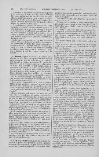Tome 8 : Du 5 mai 1789 au 15 septembre 1789 - page 254