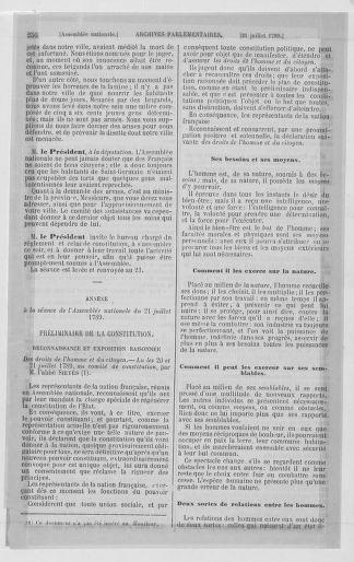 Tome 8 : Du 5 mai 1789 au 15 septembre 1789 - page 256