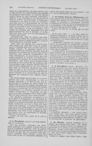 Tome 8 : Du 5 mai 1789 au 15 septembre 1789 - page 262