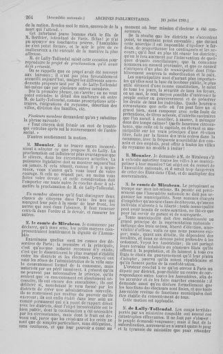 Tome 8 : Du 5 mai 1789 au 15 septembre 1789 - page 264