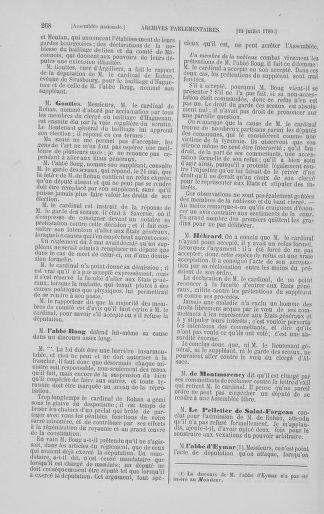Tome 8 : Du 5 mai 1789 au 15 septembre 1789 - page 268