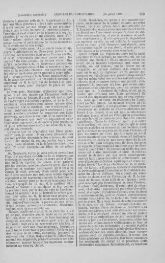 Tome 8 : Du 5 mai 1789 au 15 septembre 1789 - page 269