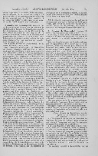 Tome 8 : Du 5 mai 1789 au 15 septembre 1789 - page 291