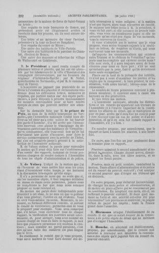 Tome 8 : Du 5 mai 1789 au 15 septembre 1789 - page 292