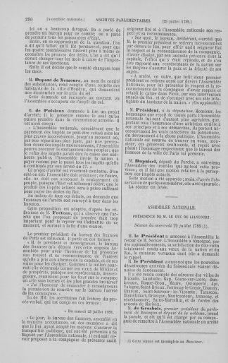 Tome 8 : Du 5 mai 1789 au 15 septembre 1789 - page 296