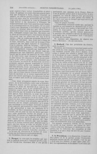 Tome 8 : Du 5 mai 1789 au 15 septembre 1789 - page 310