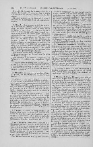 Tome 8 : Du 5 mai 1789 au 15 septembre 1789 - page 332
