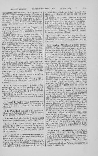 Tome 8 : Du 5 mai 1789 au 15 septembre 1789 - page 333