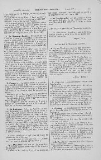Tome 8 : Du 5 mai 1789 au 15 septembre 1789 - page 341