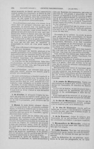 Tome 8 : Du 5 mai 1789 au 15 septembre 1789 - page 354