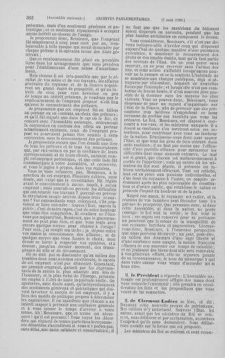 Tome 8 : Du 5 mai 1789 au 15 septembre 1789 - page 362