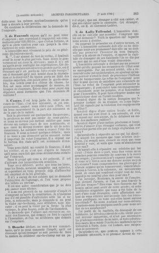 Tome 8 : Du 5 mai 1789 au 15 septembre 1789 - page 363