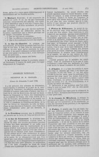 Tome 8 : Du 5 mai 1789 au 15 septembre 1789 - page 373