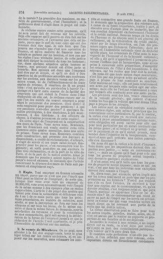 Tome 8 : Du 5 mai 1789 au 15 septembre 1789 - page 374