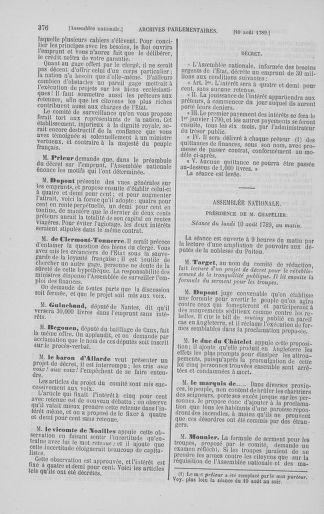 Tome 8 : Du 5 mai 1789 au 15 septembre 1789 - page 376