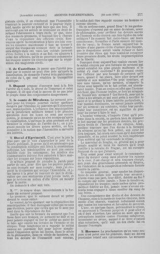 Tome 8 : Du 5 mai 1789 au 15 septembre 1789 - page 377