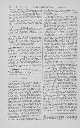 Tome 8 : Du 5 mai 1789 au 15 septembre 1789 - page 378