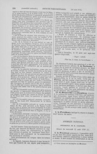 Tome 8 : Du 5 mai 1789 au 15 septembre 1789 - page 398