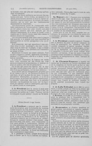 Tome 8 : Du 5 mai 1789 au 15 septembre 1789 - page 434