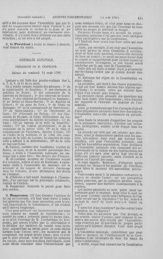Tome 8 : Du 5 mai 1789 au 15 septembre 1789 - page 435