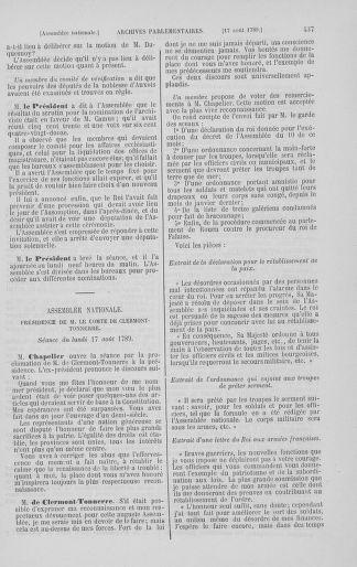 Tome 8 : Du 5 mai 1789 au 15 septembre 1789 - page 437