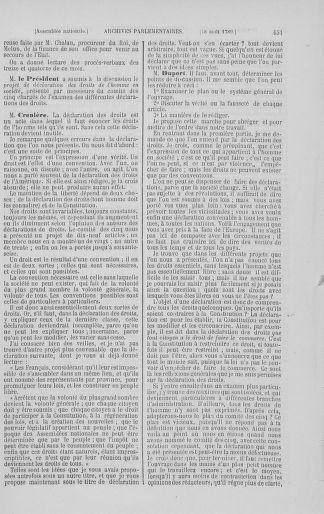 Tome 8 : Du 5 mai 1789 au 15 septembre 1789 - page 451