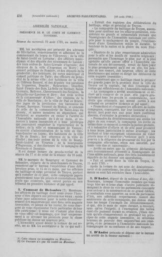 Tome 8 : Du 5 mai 1789 au 15 septembre 1789 - page 456