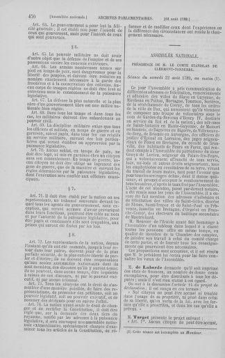 Tome 8 : Du 5 mai 1789 au 15 septembre 1789 - page 470