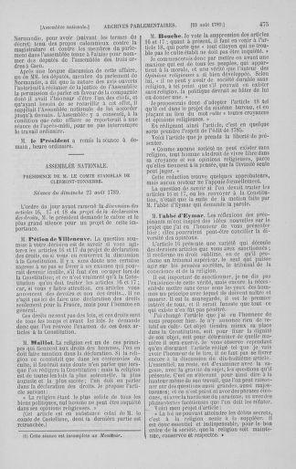 Tome 8 : Du 5 mai 1789 au 15 septembre 1789 - page 475