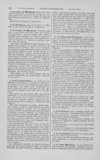Tome 8 : Du 5 mai 1789 au 15 septembre 1789 - page 476