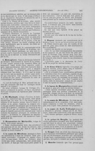 Tome 8 : Du 5 mai 1789 au 15 septembre 1789 - page 483