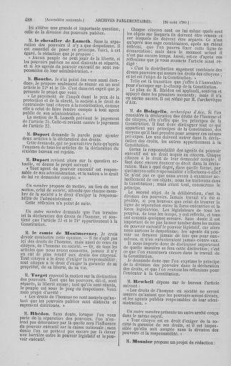 Tome 8 : Du 5 mai 1789 au 15 septembre 1789 - page 488