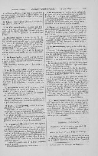 Tome 8 : Du 5 mai 1789 au 15 septembre 1789 - page 489