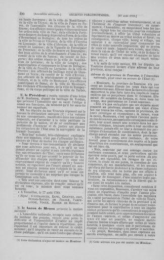Tome 8 : Du 5 mai 1789 au 15 septembre 1789 - page 490