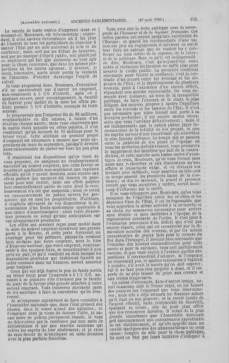 Tome 8 : Du 5 mai 1789 au 15 septembre 1789 - page 495