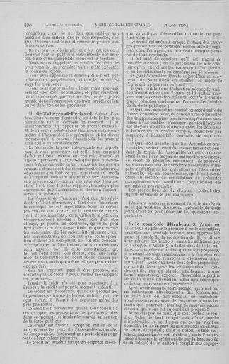 Tome 8 : Du 5 mai 1789 au 15 septembre 1789 - page 498