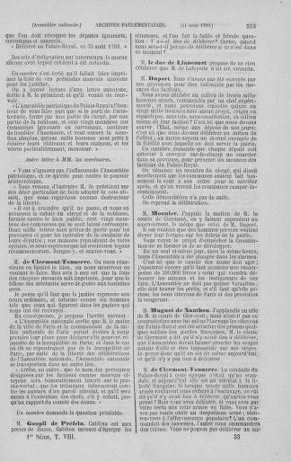 Tome 8 : Du 5 mai 1789 au 15 septembre 1789 - page 513