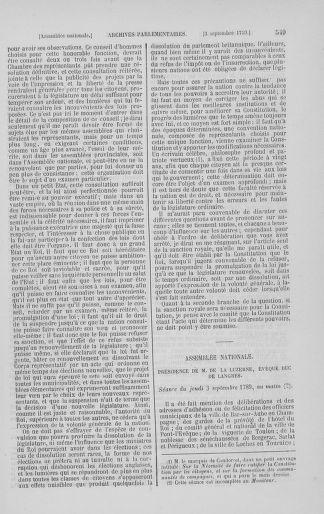 Tome 8 : Du 5 mai 1789 au 15 septembre 1789 - page 549