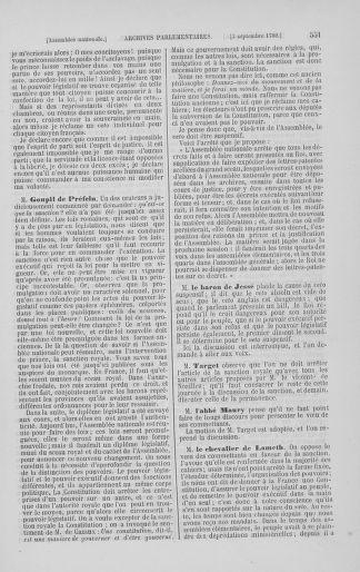 Tome 8 : Du 5 mai 1789 au 15 septembre 1789 - page 551