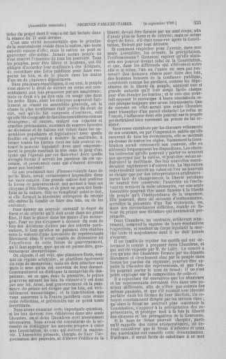 Tome 8 : Du 5 mai 1789 au 15 septembre 1789 - page 555