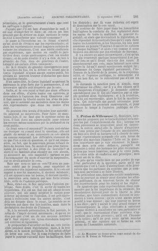 Tome 8 : Du 5 mai 1789 au 15 septembre 1789 - page 581