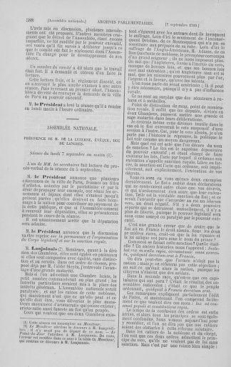 Tome 8 : Du 5 mai 1789 au 15 septembre 1789 - page 588