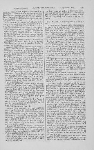 Tome 8 : Du 5 mai 1789 au 15 septembre 1789 - page 589