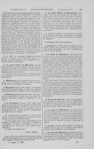 Tome 8 : Du 5 mai 1789 au 15 septembre 1789 - page 609