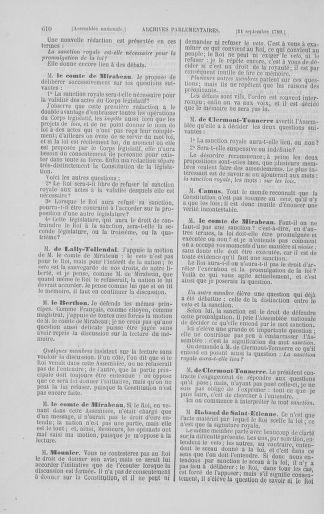 Tome 8 : Du 5 mai 1789 au 15 septembre 1789 - page 610