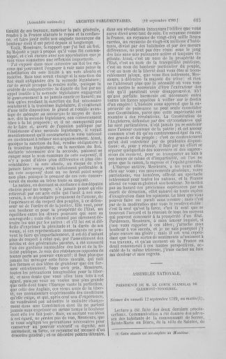 Tome 8 : Du 5 mai 1789 au 15 septembre 1789 - page 615