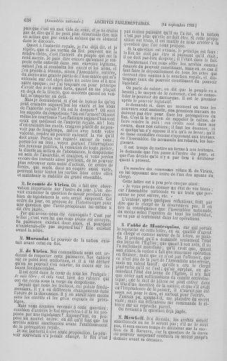 Tome 8 : Du 5 mai 1789 au 15 septembre 1789 - page 638