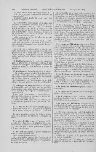 Tome 8 : Du 5 mai 1789 au 15 septembre 1789 - page 642