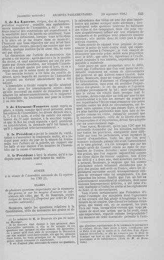 Tome 8 : Du 5 mai 1789 au 15 septembre 1789 - page 645